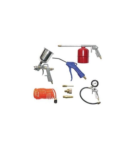 Kit de 8 accessoires pour compresseur