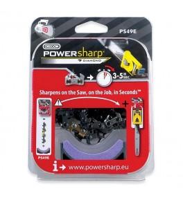 Powersharp chaine + pierre 49E