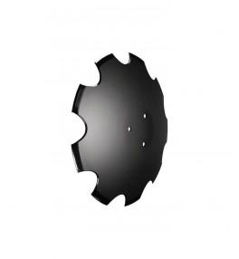 Disque crenelé 460x6mm 3 trous