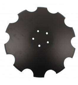 Disque crénelé 520x6mm 5 trous